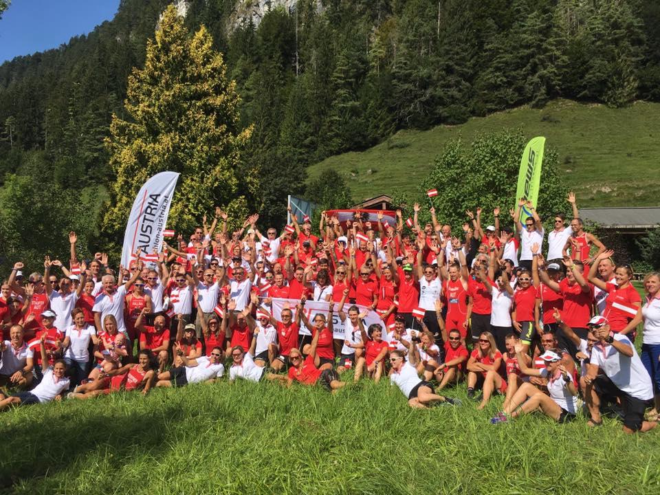 Team Austria Gruppenfoto